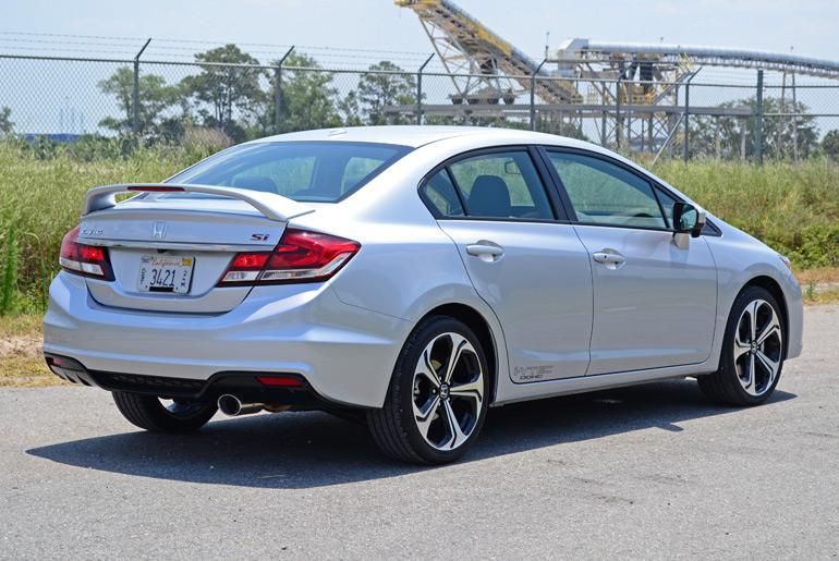 2014 Honda Civic Si Sedan Review & Test Drive