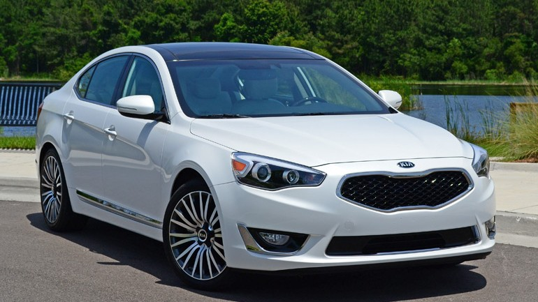 2014 Kia Cadenza Premium Review & Test Drive