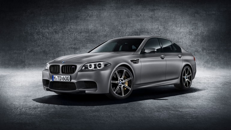 BMW M5 30th Anniversary Edition To Debut with 600 Horsepower From Only 300 Examples