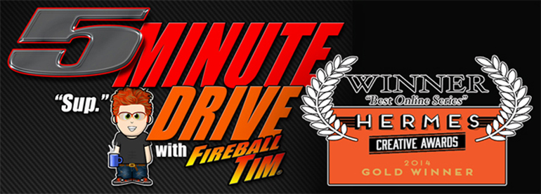5Minute Drive wins the 2014 Best Online Series Hermes Award… plus New Episode!