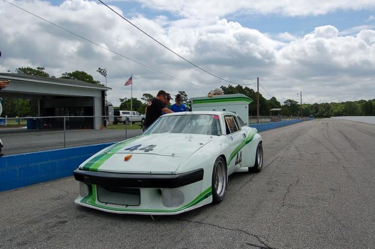 Bill Warner's Triumph TR8