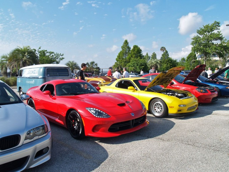 May 2014 Cars and Coffee