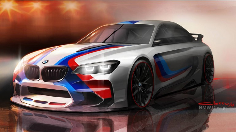 BMW Vision Gran Turismo On PS3 Gran Turismo 6 Game Hints at Future M2