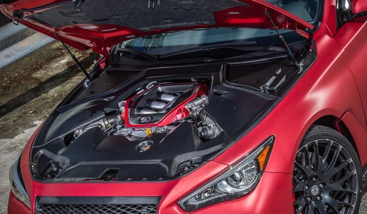 Under the Hood of the Infiniti Q50 Eau Rouge Lies GT-R Bits: Exclusive Images