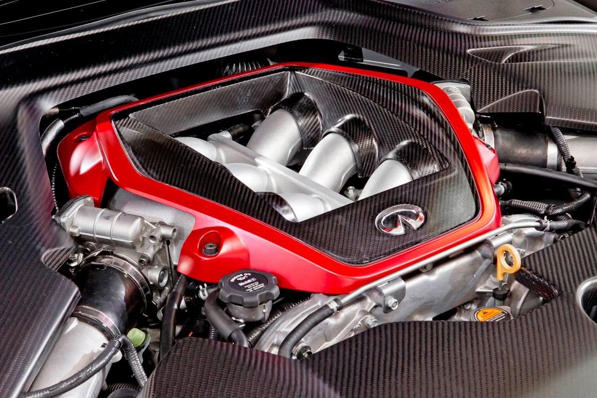 Under the Hood of the Infiniti Q50 Eau Rouge Lies GT-R ...