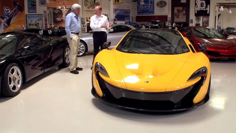 Jay Leno's 2015 McLaren P1 Rundown and Drive on Latest Garage Episode: Video