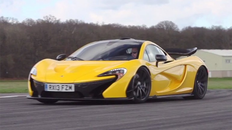 McLaren P1 Tracked On Motor Trend Ignition: Video