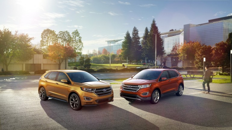 2015 Ford Edge Revealed – Sports More Sport and Efficient EcoBoost Tech