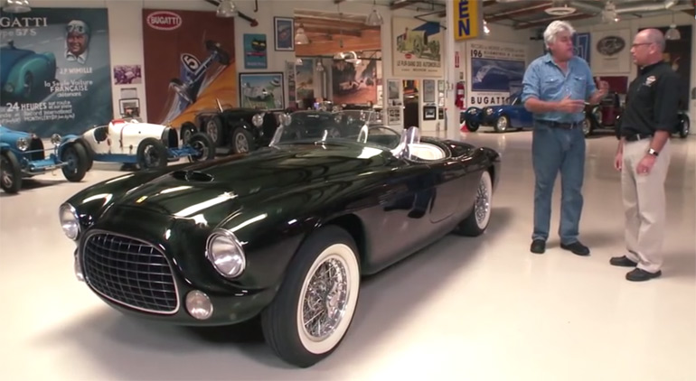 All-Original 1952 Ferrari Barchetta In Jay Leno's Garage