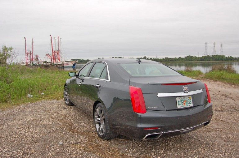 2014 CTS Vsport Rear