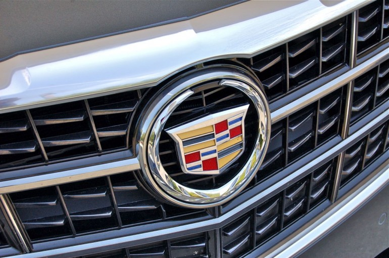 2014 Cadillac CTS Vsport Grille