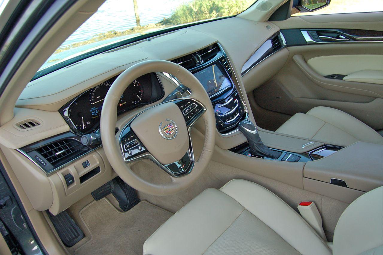 Cadillac Cts Vsport Interior