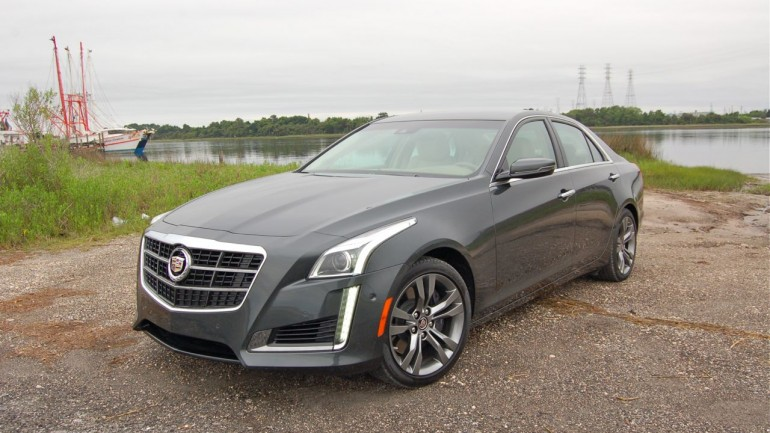 V is for Vrroom in 2014 Cadillac CTS Vsport