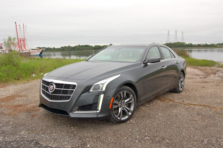 2014 Cadillac CTS Vsport money shot