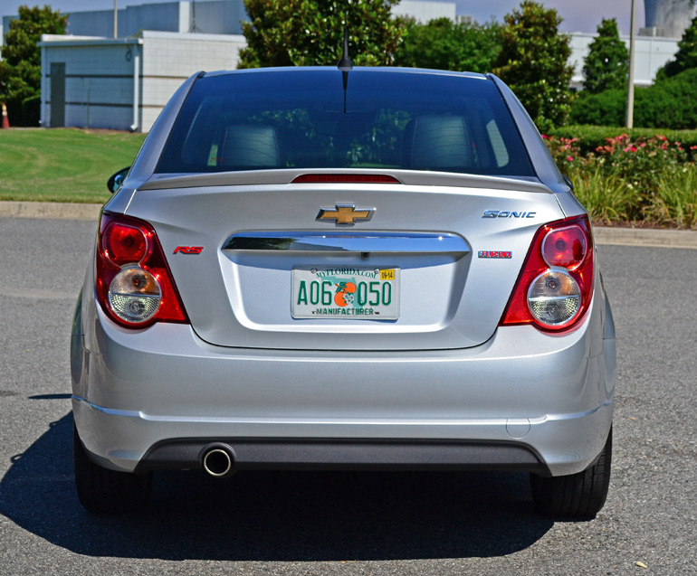 2014 Chevrolet Sonic RS 6-Speed Manual Review & Test Drive