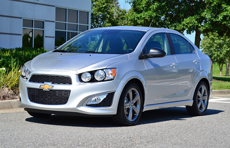 2014 chevrolet sonic rs 6 speed manual review test drive. Black Bedroom Furniture Sets. Home Design Ideas