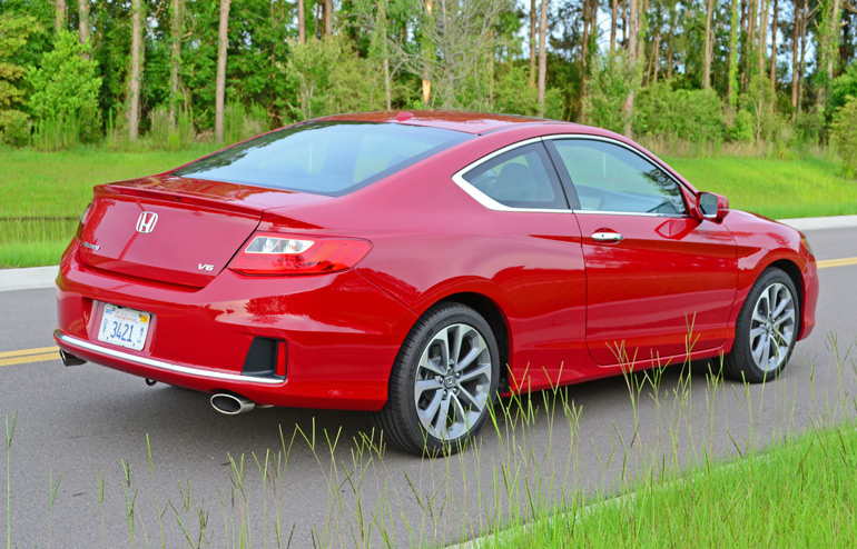 Amazing 2014 Honda Accord Coupe V6 Exl 6sp Rear