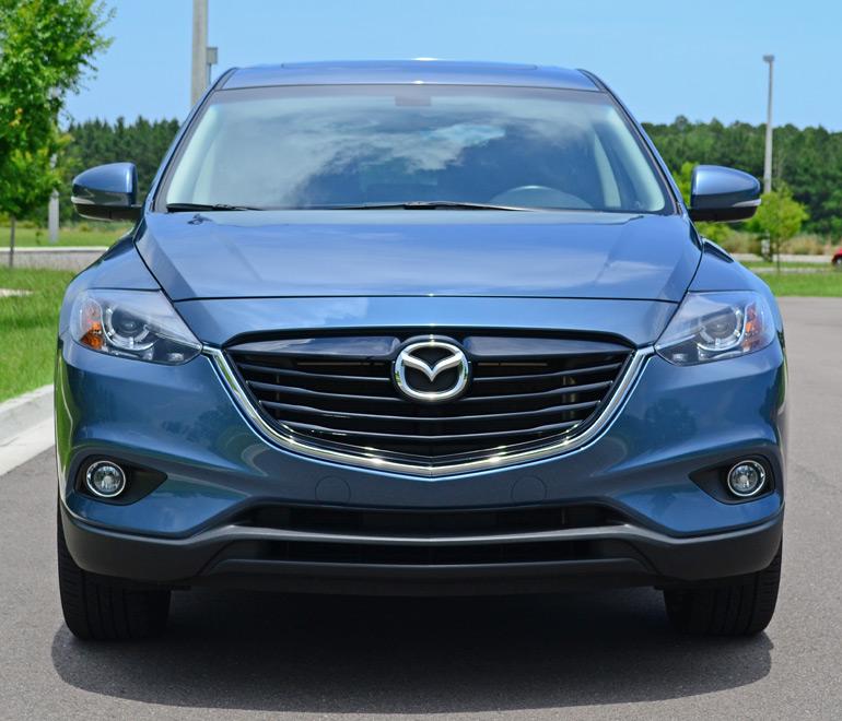 Mazda Suv 2014: 2014 Mazda CX-9 Grand Touring Review & Test Drive