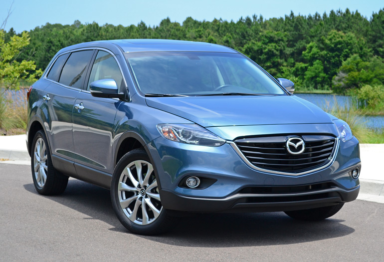 2014 mazda cx 9 grand touring review test drive. Black Bedroom Furniture Sets. Home Design Ideas