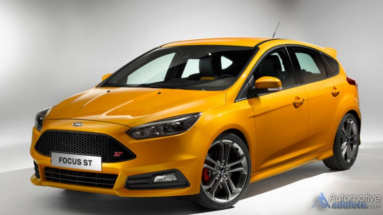 2015 Ford Focus ST Revealed – Refreshed Look and Handling Upgrades