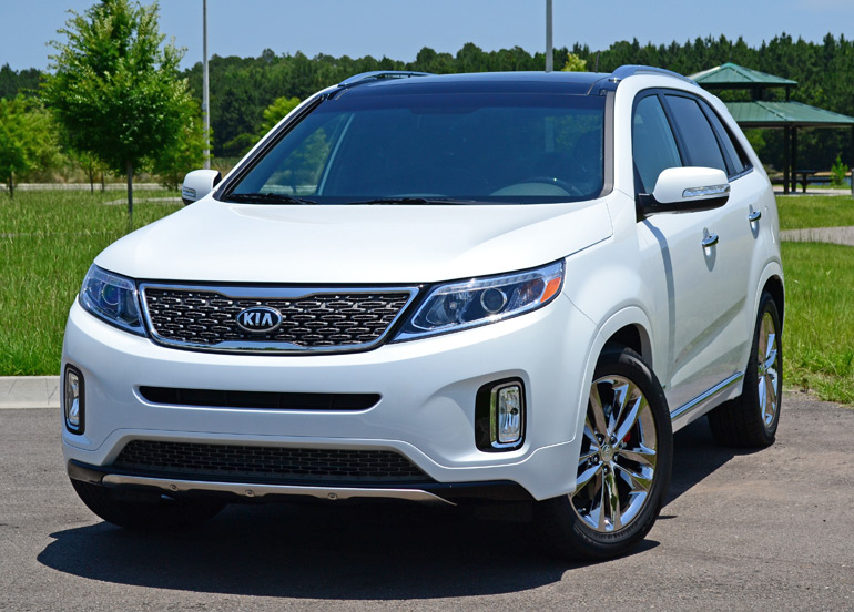 2015 kia sorento sxl awd review test drive. Black Bedroom Furniture Sets. Home Design Ideas