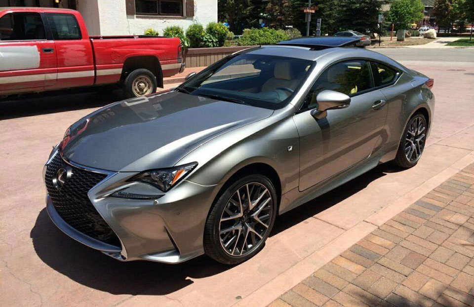 2015 lexus rc 350 f sport in the flesh images. Black Bedroom Furniture Sets. Home Design Ideas