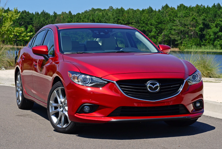 2015 mazda6 i grand touring review test drive. Black Bedroom Furniture Sets. Home Design Ideas