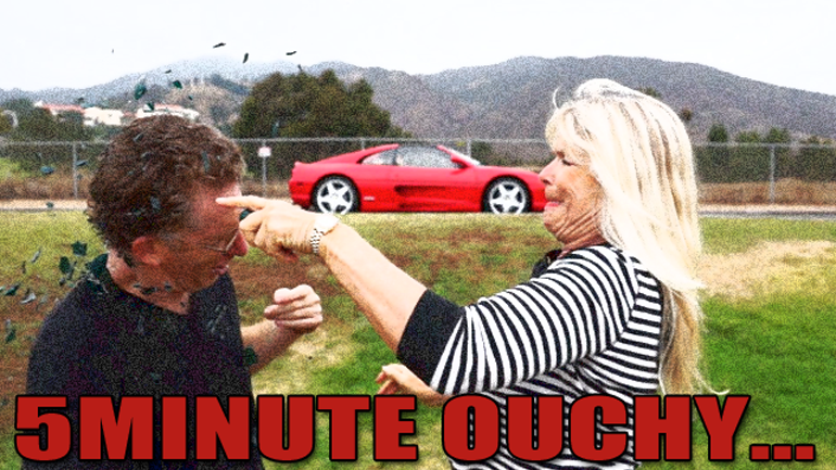 Upcoming Episode 30 of 5MINUTE DRIVE gets painful…