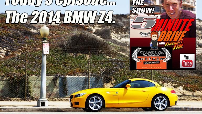 2014 BMW Z4 Roadster 5Minute Drive