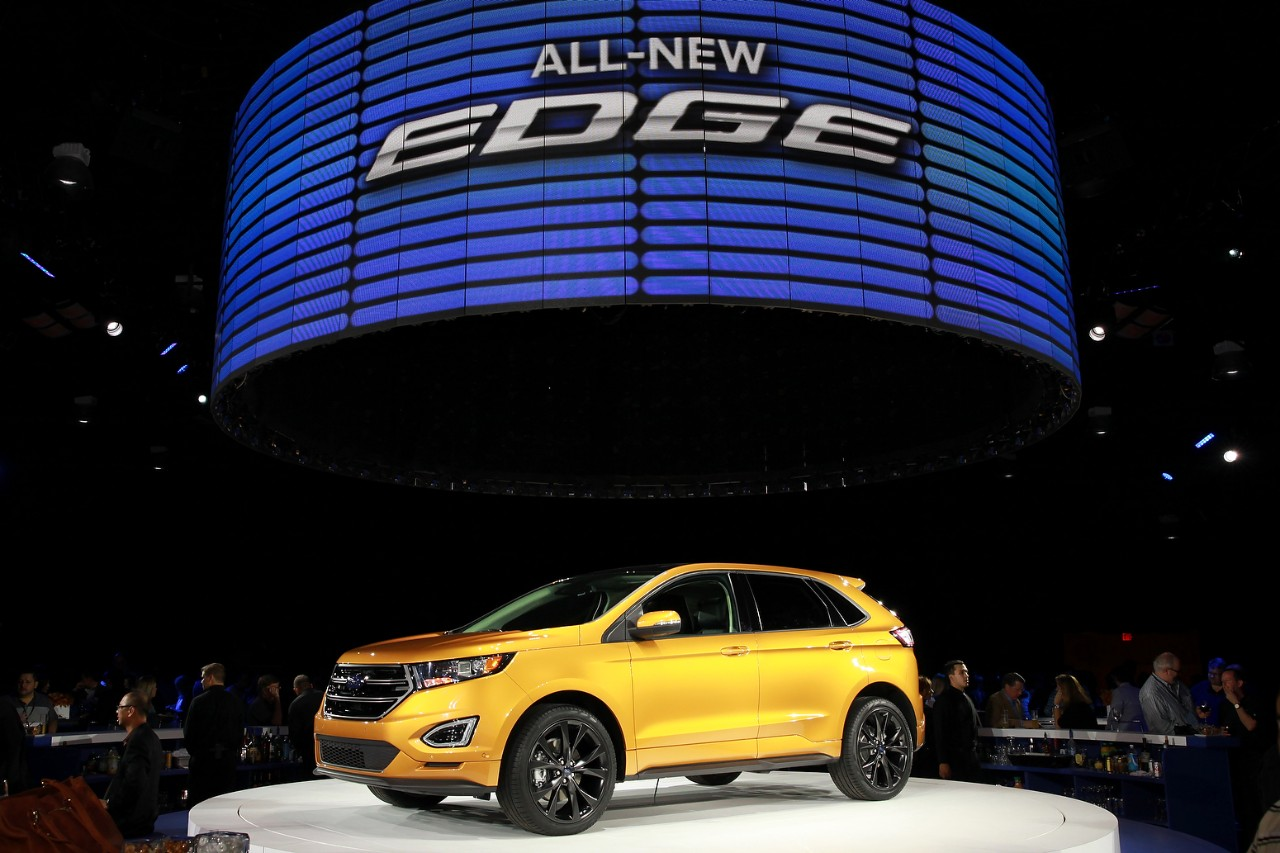 2015 ford edge revealed sports more sport and efficient ecoboost tech. Black Bedroom Furniture Sets. Home Design Ideas