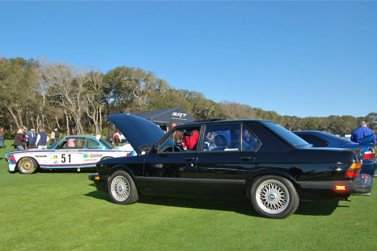 Ken Brewer 1988 M5 at Amelia Concours Cars and Coffee