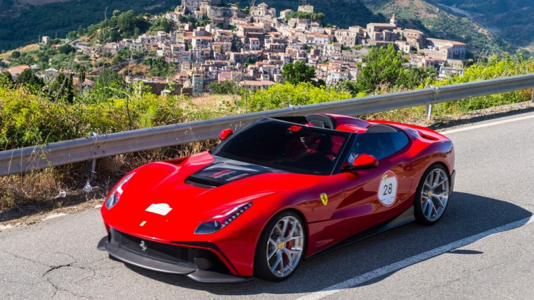 Ferrari Creates Exclusive One-Off F12 TRS Roadster Hybrid for A Lucky Customer