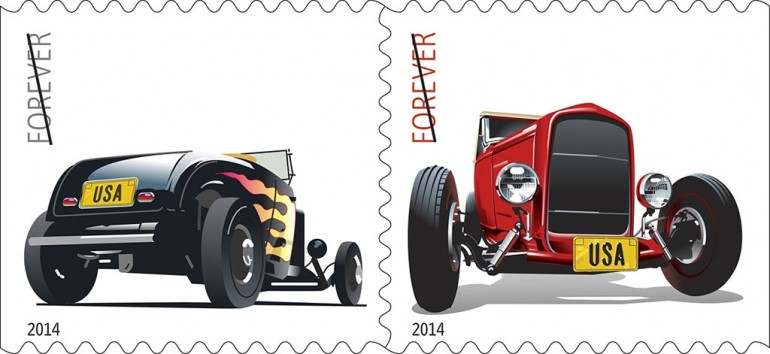 hot-rods-forever-stamps-2014