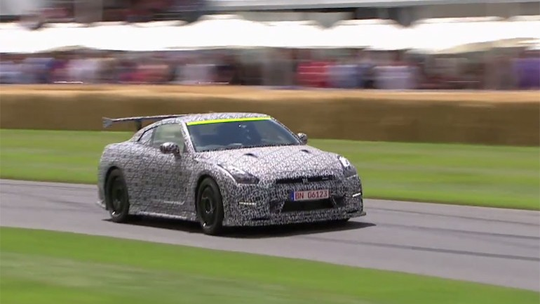 Nissan GT-R Nismo Time Attack Edition Conquers All At Goodwood Festival of Speed: Video