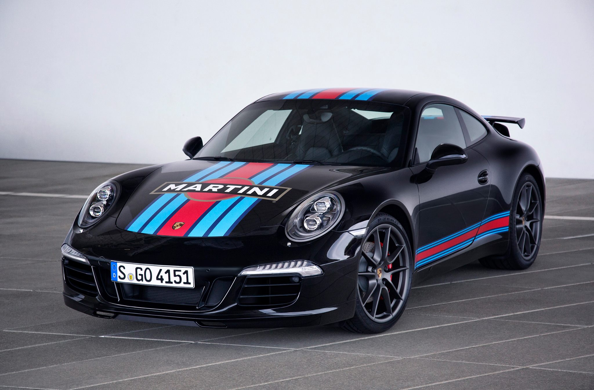 porsche reveals 911 carrera s martini racing edition for. Black Bedroom Furniture Sets. Home Design Ideas