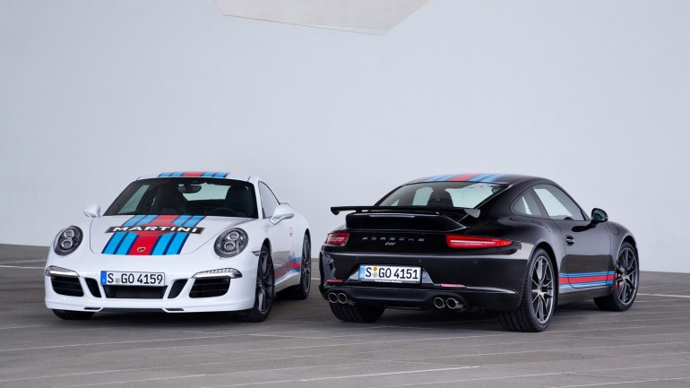 Porsche Reveals 911 Carrera S Martini Racing Edition for Le Mans