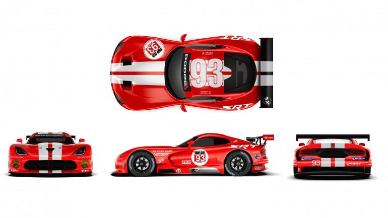 SRT Motorsports Unveils New Viper GTS-R Livery