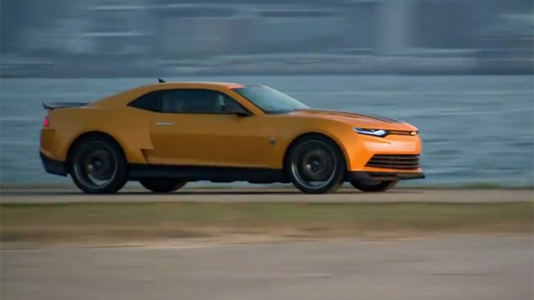Transformers and Cars Go Hand in Hand: Behind the Scenes Working with GM Video