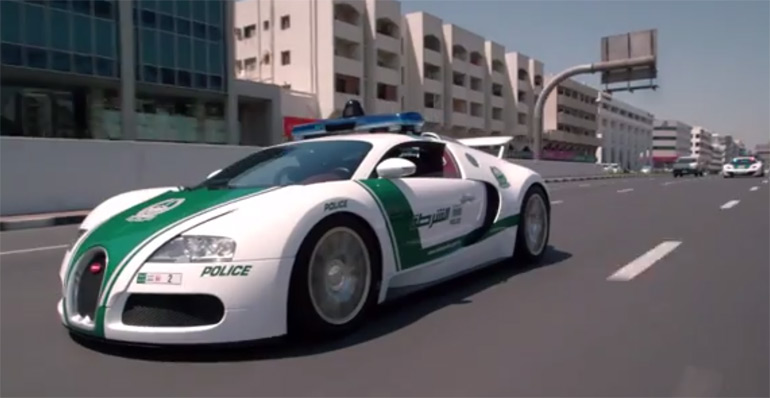 The World's Fastest Police Cars: Video