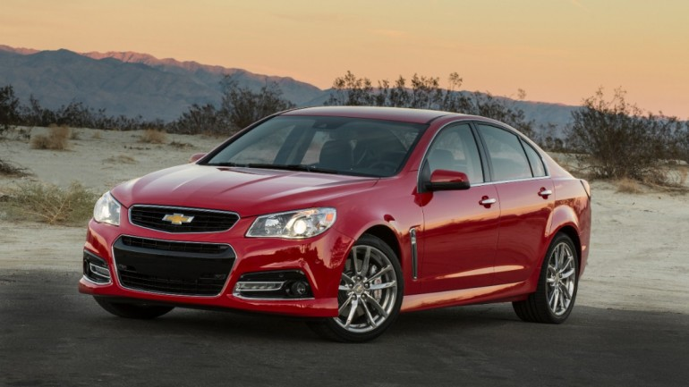 2015 Chevrolet SS Gets Manual Transmission and Magnetic Ride Control