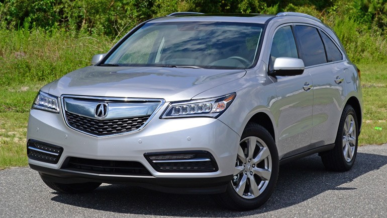 2015 Acura MDX SH-AWD w/Advance-Entertainment Review & Test Drive