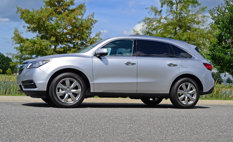 Acura MDX SHAWD WAdvanceEntertainment Review Test Drive - Acura mdx review 2014