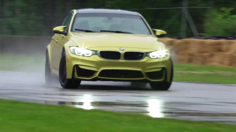 Motor Trend's Ignition Tests 2015 BMW M3: Video