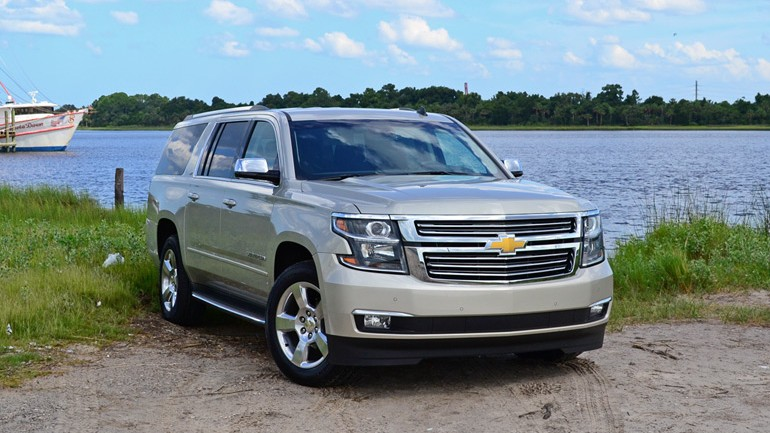 2015 Chevrolet Suburban LTZ 4WD Review & Test Drive
