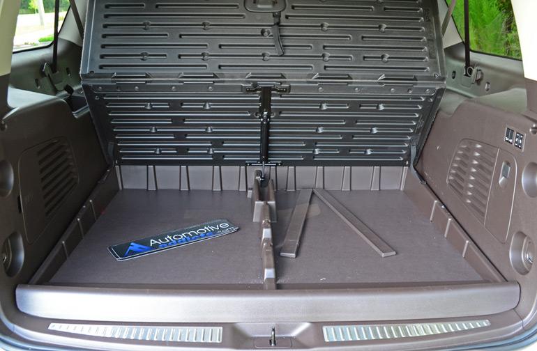 chevrolet suburban ltz rear floor storage
