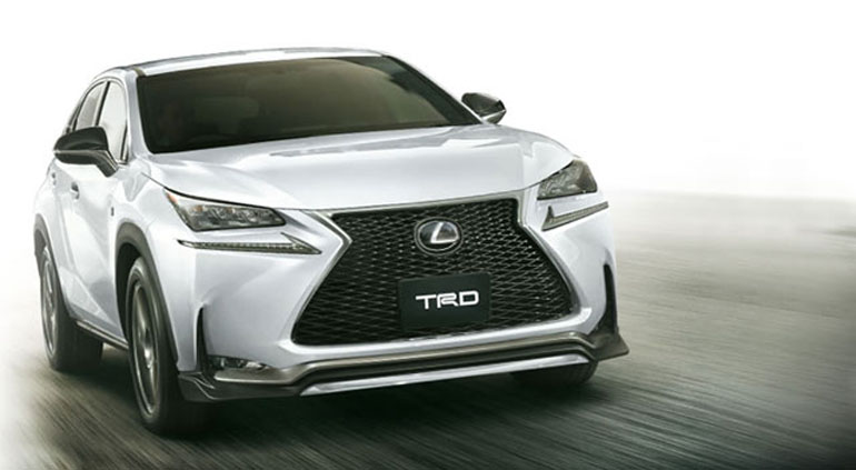 2015 Lexus NX Gets Aggressive with TRD Body Kit and Add-Ons