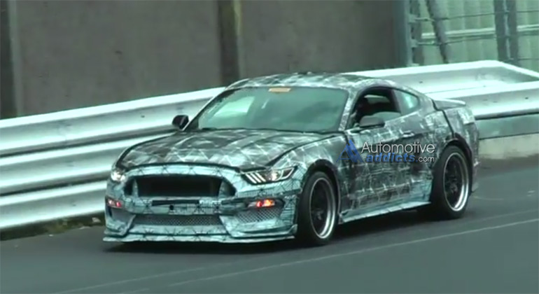 2016 Ford Mustang GT350/SVT Testing at Nurburgring Spy Video