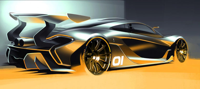 One more reason to come to PEBBLE BEACH this August… The McLaren P1 GTR @autofilmfest @McLarenAuto