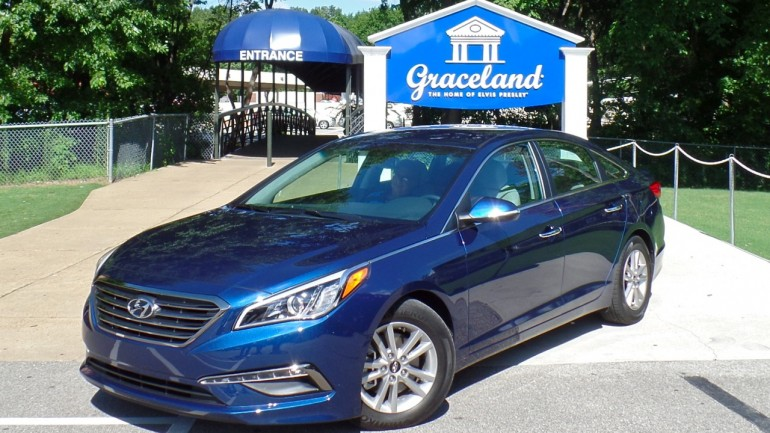 Visiting Graceland in the all-new 2015 Hyundai Sonata