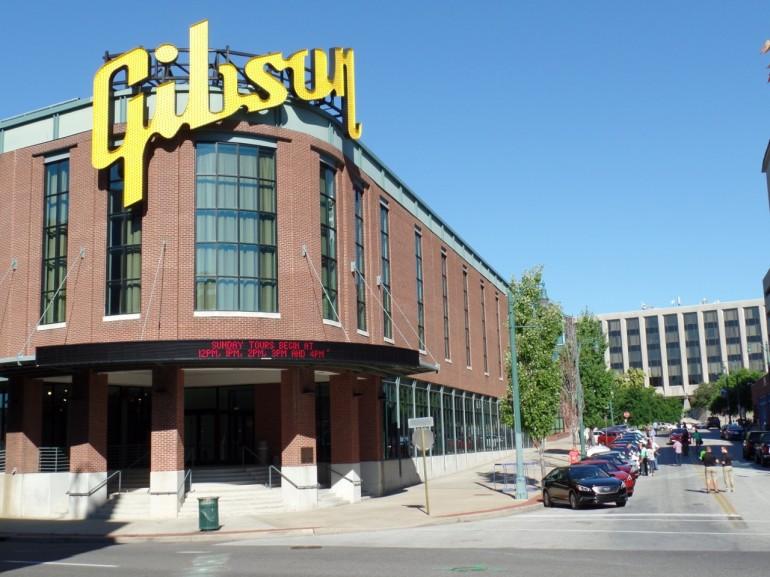 Memphis Gibson Factory